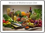 miracle of mediterranean diet