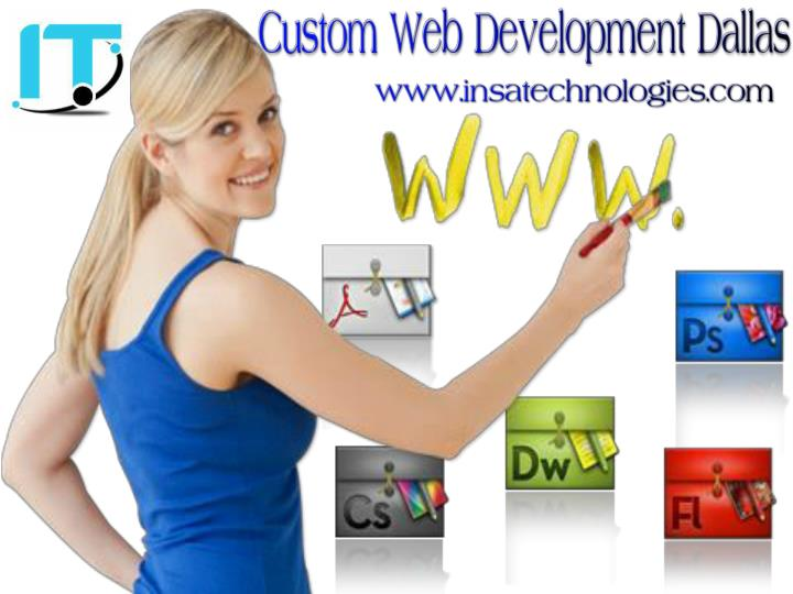 Custom web development dallas