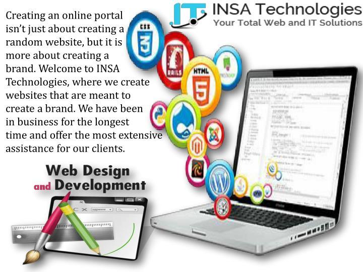 Creating an online portal