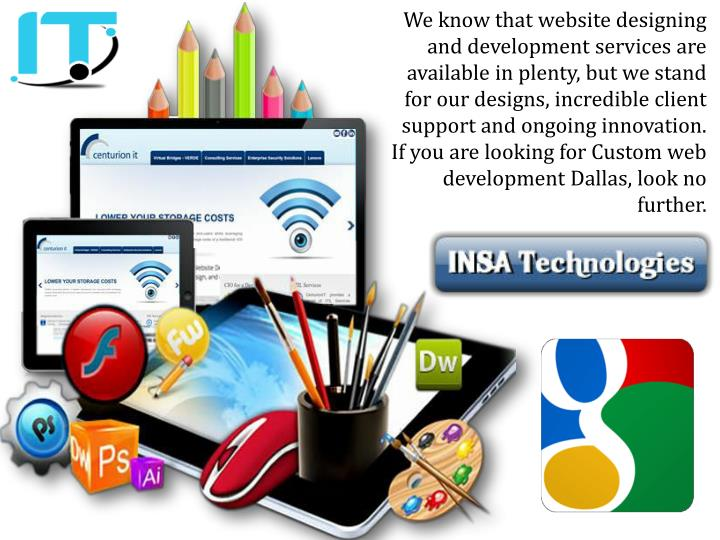 We know that website designing