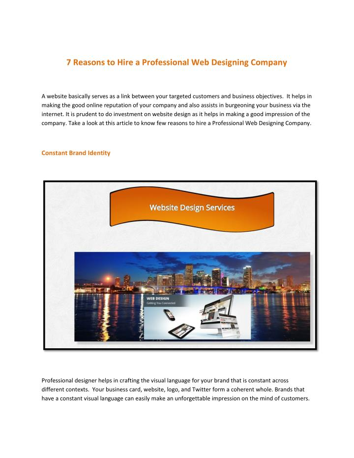 Ppt  7 Reasons To Hire A Professional Web Designing. Immigration Attorneys In Houston. What Is A Conforming Loan Vortex Garage Doors. Aronfeld Trial Lawyers Bruce Solomon Plumbing. Free Online Courses For Adults. Basics Of Money Management Bill Powers Pimco. How To Limit Bandwidth Usage. Medical Appointment Reminder Software. Server Monitoring Script Des Moines Tv Guide