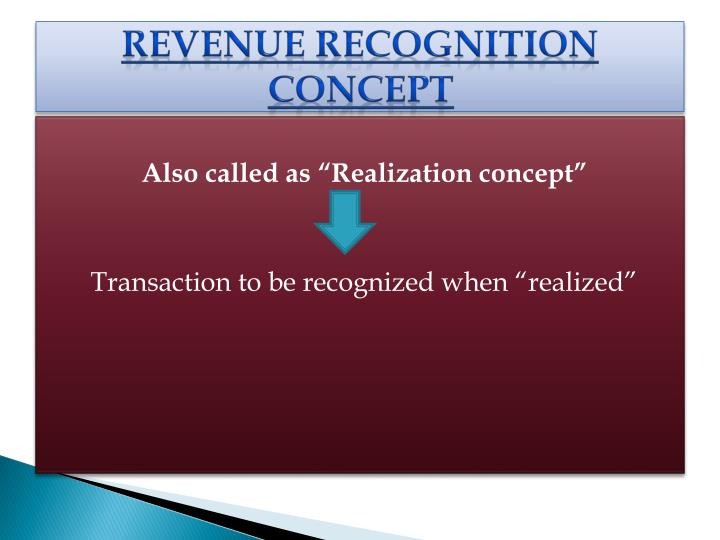 Revenue Recognition concept