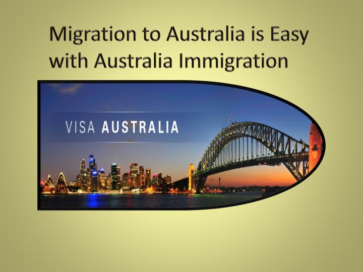 Migration to Australia is Easy with Australia Immigration