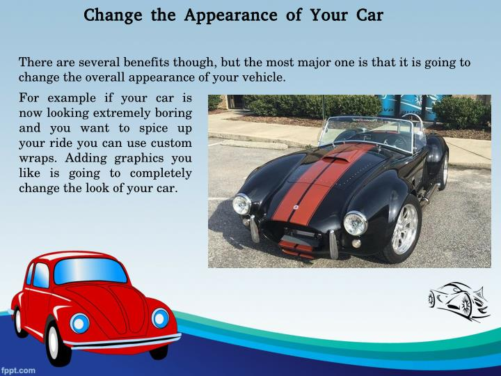 Change the Appearance of Your Car