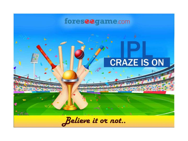 Where there is ipl there is prediction