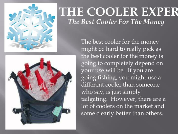 THE COOLER EXPERTS