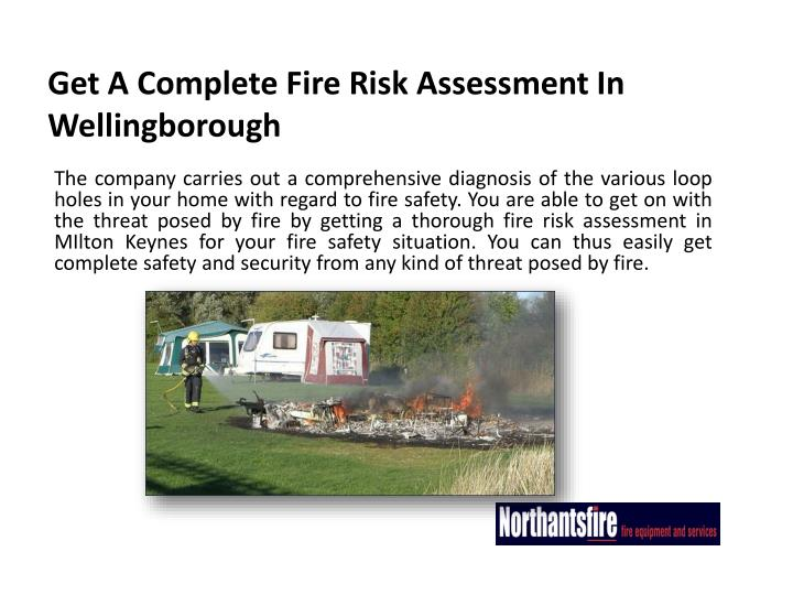 Get a complete fire risk assessment in wellingborough1