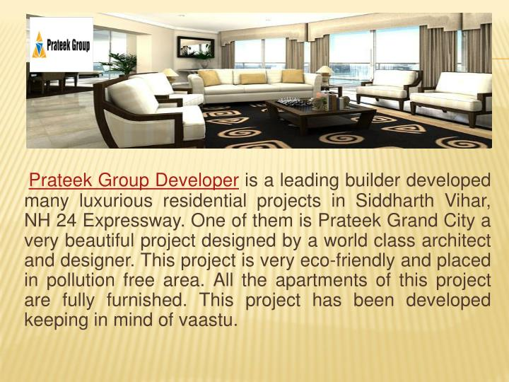 Prateek Group Developer