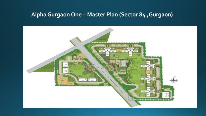 Alpha Gurgaon One – Master Plan (Sector 84 ,Gurgaon)