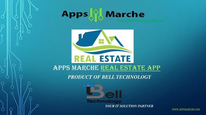 Apps marche real estate app