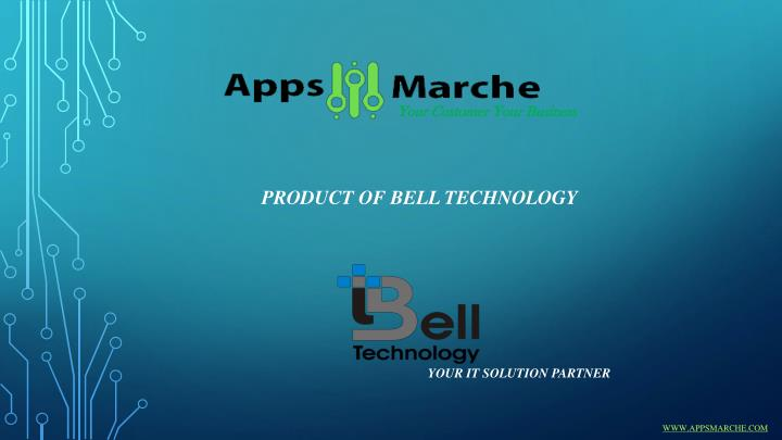 Product of bell technology your it solution partner