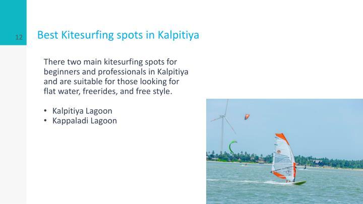 Best Kitesurfing spots in Kalpitiya