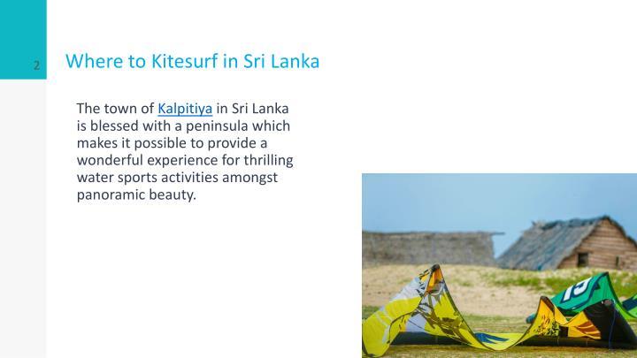 Where to Kitesurf in Sri Lanka