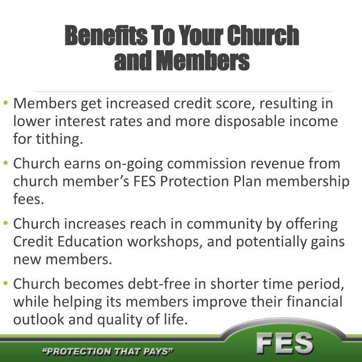 Benefits To Your Church