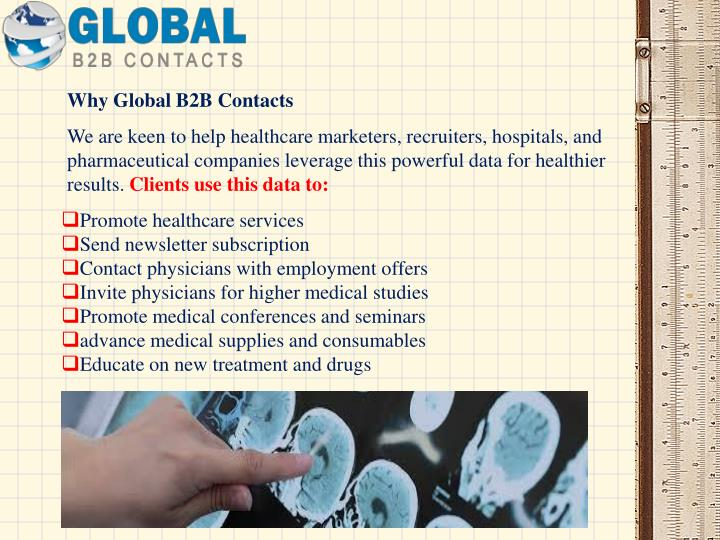 Why Global B2B Contacts