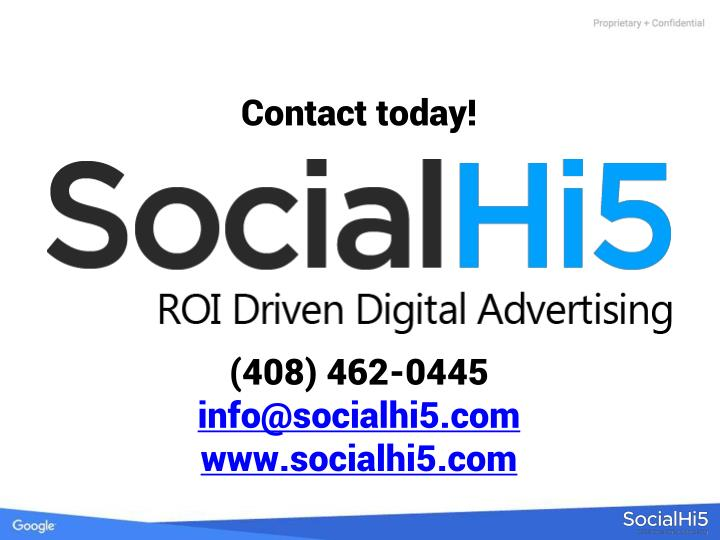 Contact today!