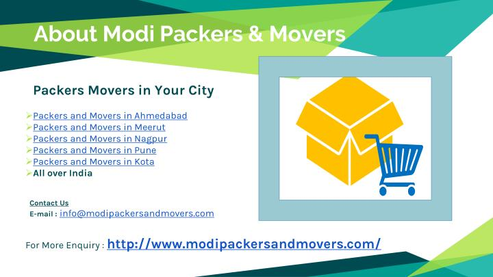 About Modi Packers & Movers