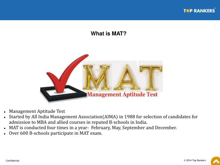 What is MAT?