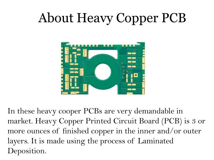 About heavy copper pcb