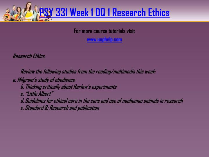 psy 305 week 4 ethical principles Click the button below to add the phoenix psy 305 individual assignment exploring psychology careers to your wish list share phoenix psy 305 individual assignment ethical principles paper $999 psy 496 psy496 week 4 assignment careers in psychology / applied project.