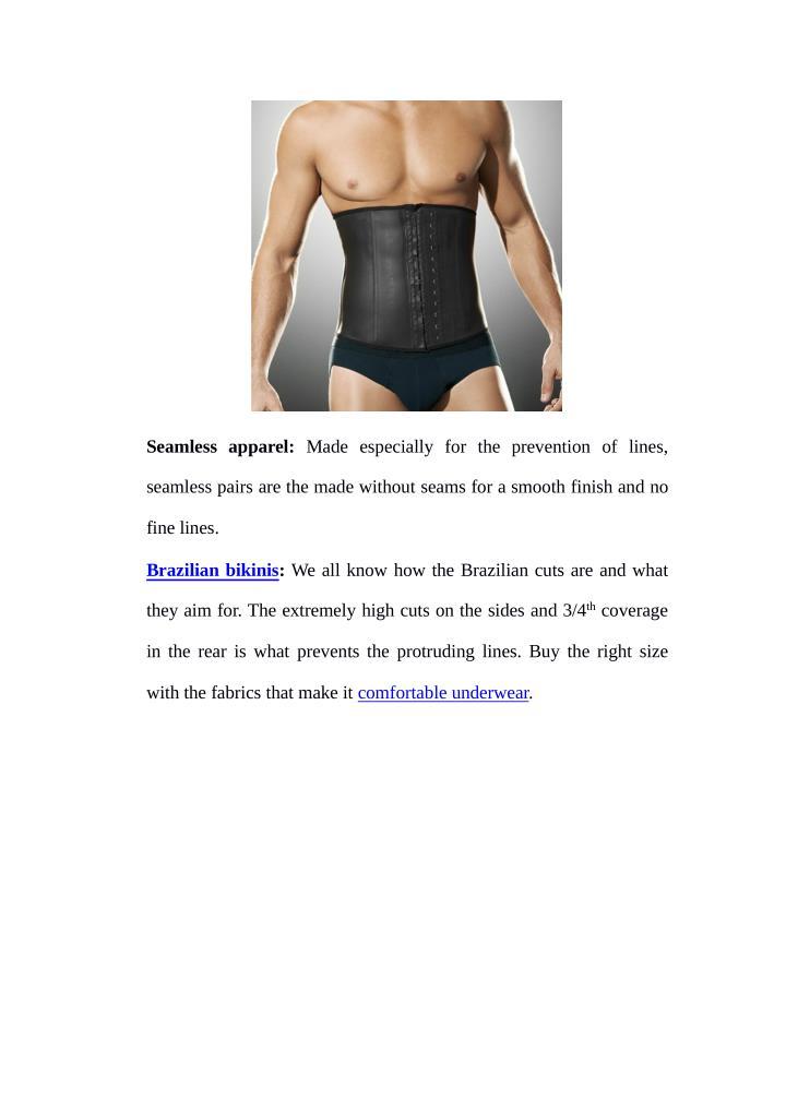 Seamless apparel: