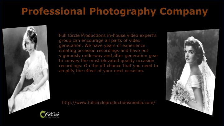 Professional Photography Company