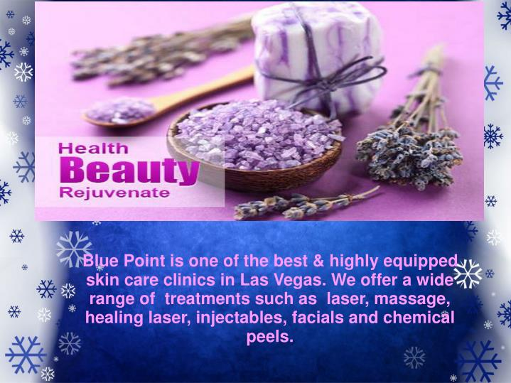 Blue Point is one of the best & highly equipped skin care clinics in Las Vegas. We offer a wide rang...