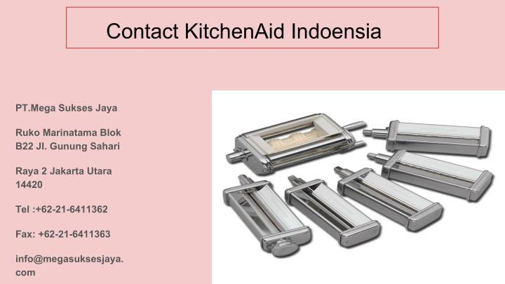 Contact KitchenAid Indoensia