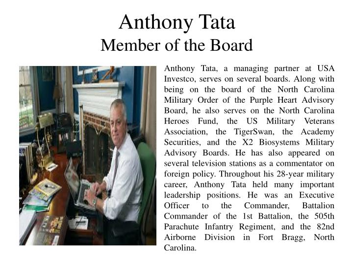 Anthony Tata