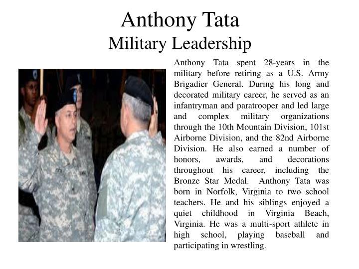 Anthony Tata
