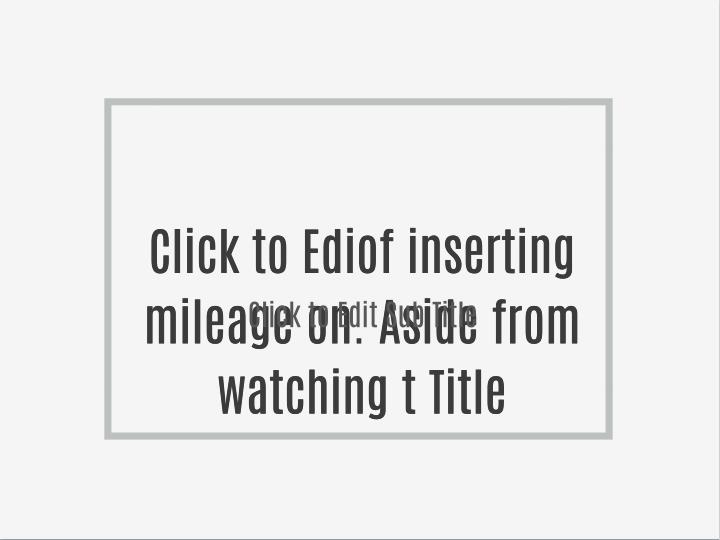 Click to Ediof inserting