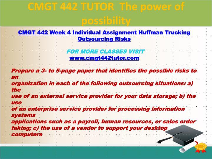 Huffman Trucking: Desktop Management &Amp; Erp Considerations