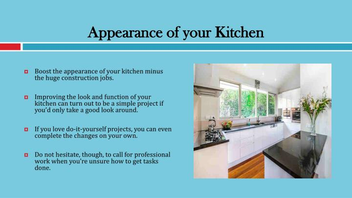 Ppt Simple Ways To Update Your Kitchen Design Powerpoint Presentation Id 7348937