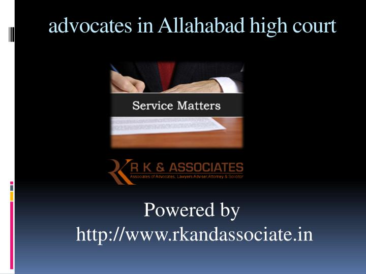 PPT - advocates in Allahabad PowerPoint Presentation - ID ...