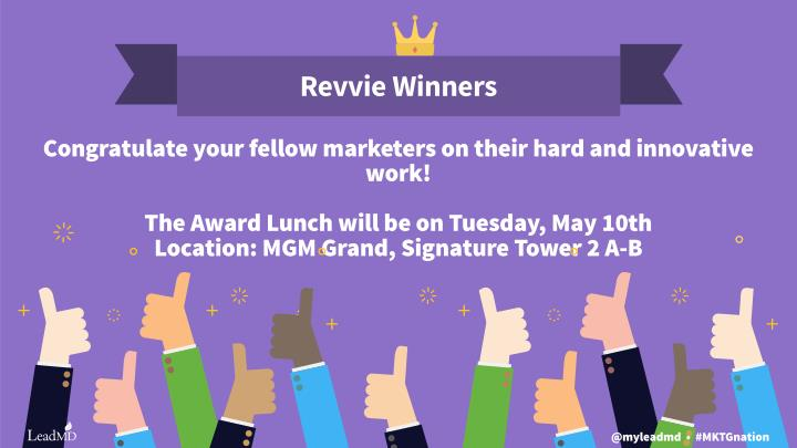 Revvie Winners