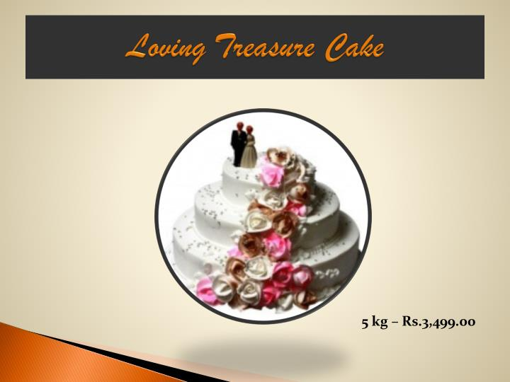 Loving Treasure Cake