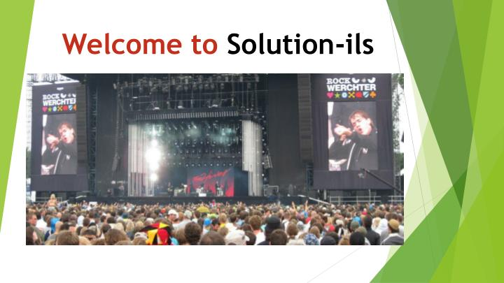 Welcome to solution ils