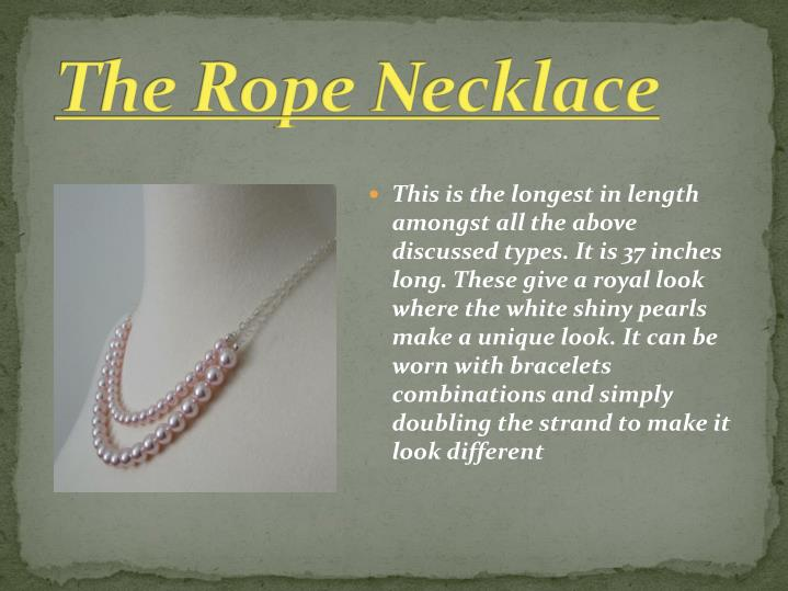 The Rope Necklace