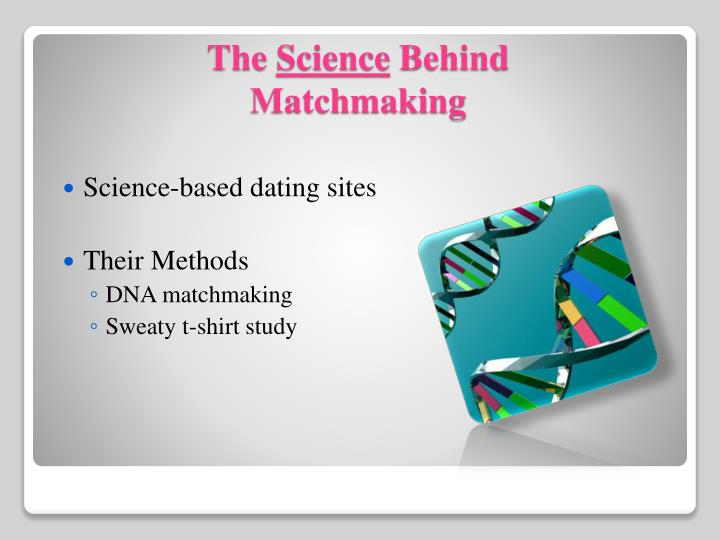 Science-based dating sites