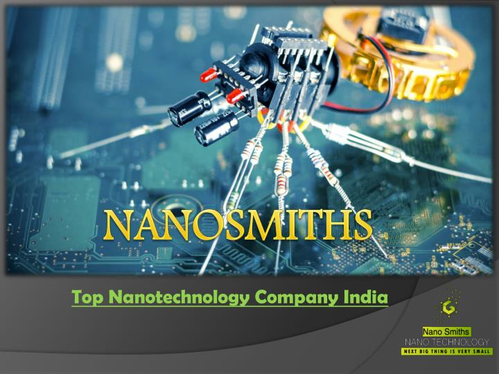Top nanotechnology company india