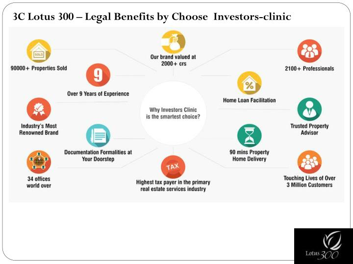 3C Lotus 300 – Legal Benefits by Choose  Investors-clinic
