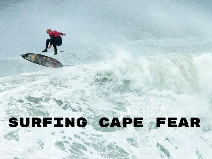 Surfing cape fear