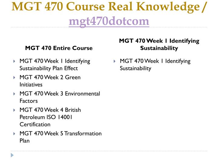 Mgt 470 course real knowledge mgt470dotcom1