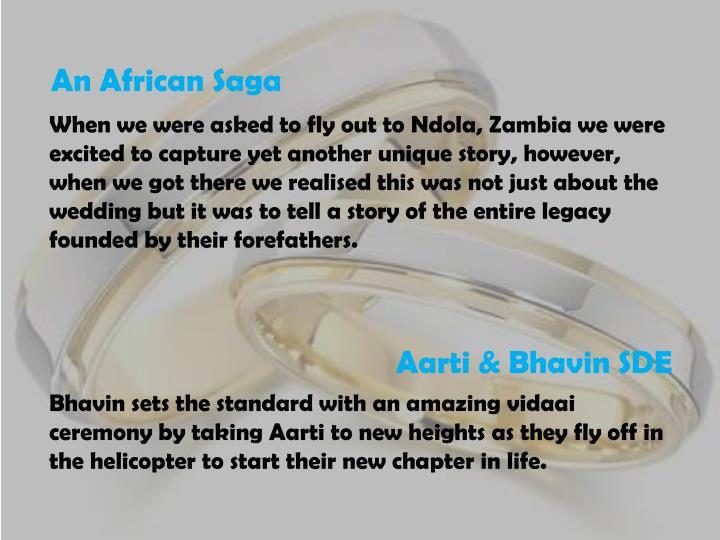An African Saga