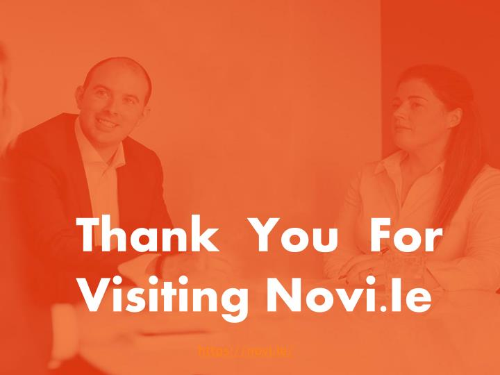 Thank  You  For Visiting Novi.Ie