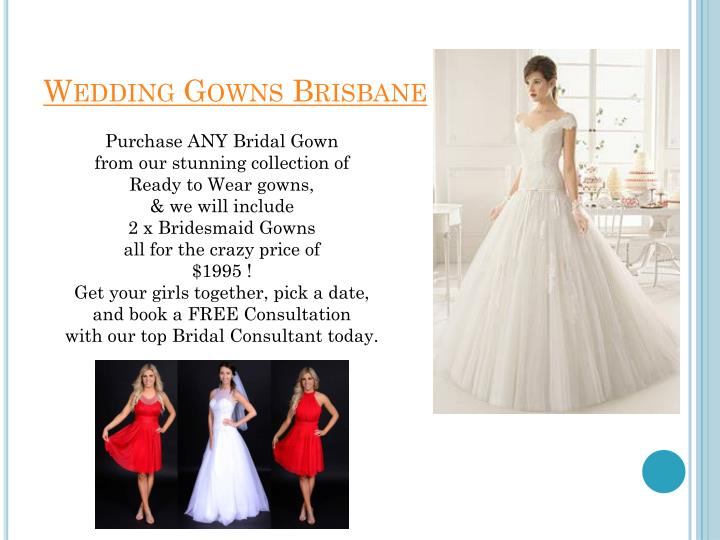 Wedding gowns brisbane