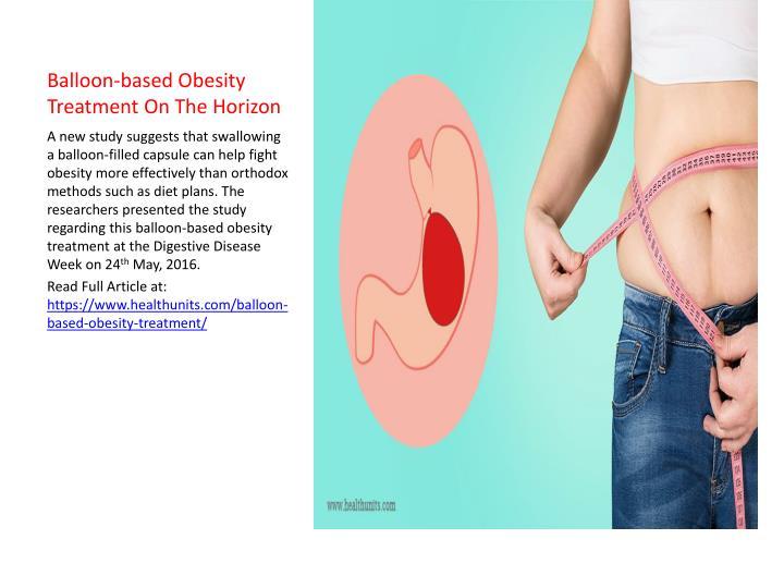 Balloon-based Obesity Treatment On The