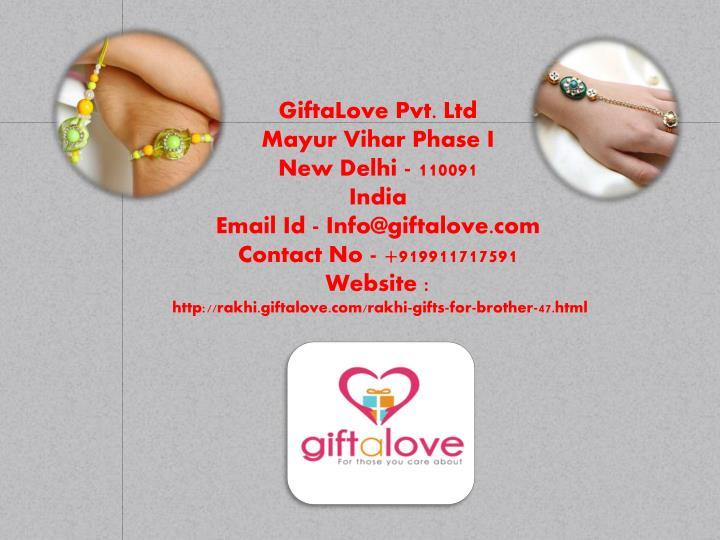 GiftaLove Pvt. Ltd