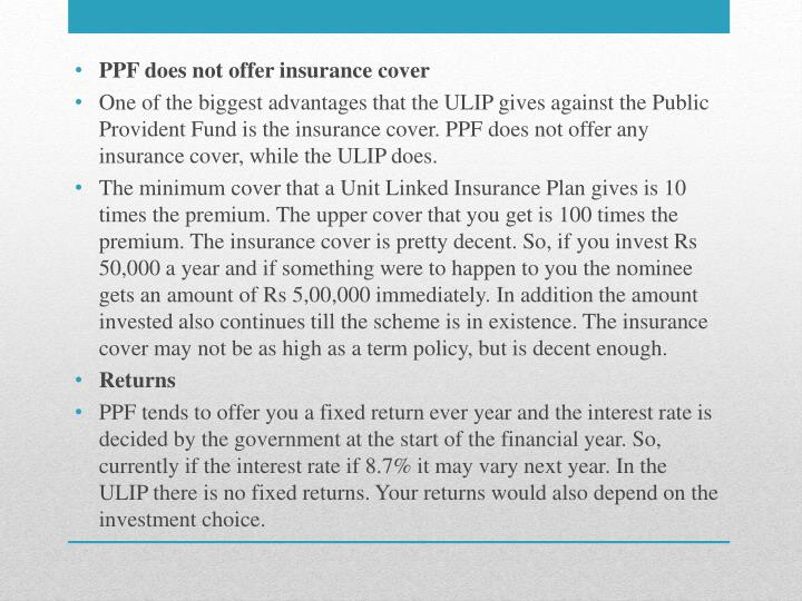 Unit-linked insurance plan