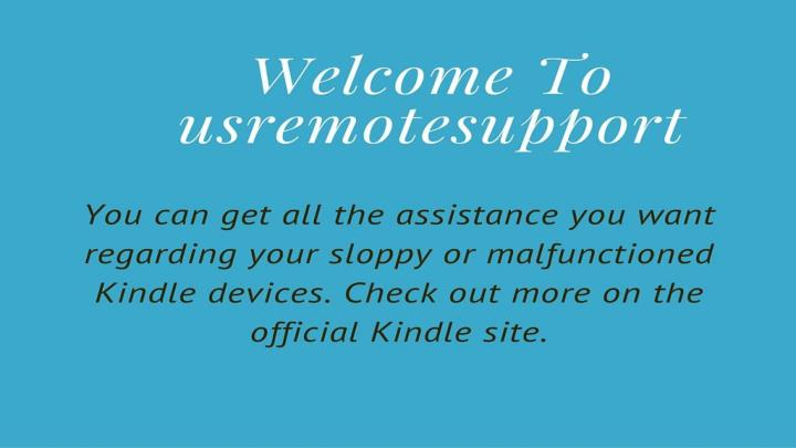 Www kindle com support 7352144